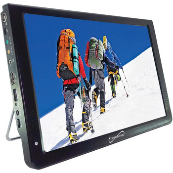 """12"""" Portable LCD TV, AC/DC Compatible with RV/Boat"""