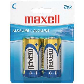 Alkaline Batteries (C; 2 pk; Carded)