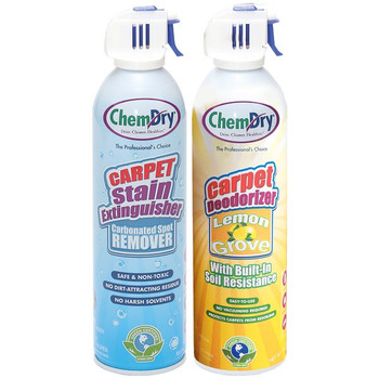 Stain Extinguisher/Carpet Deodorizer Combo Pack (Lemon Grove)