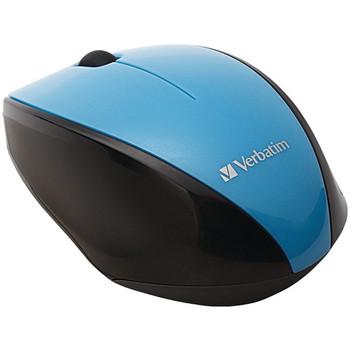 Wireless Multi-Trac Blue LED Optical Mouse (Blue)