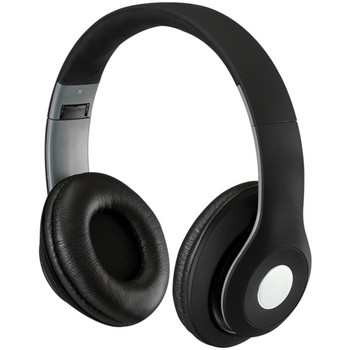 Bluetooth(R) Over-the-Ear Headphones with Microphone (Matte Black)