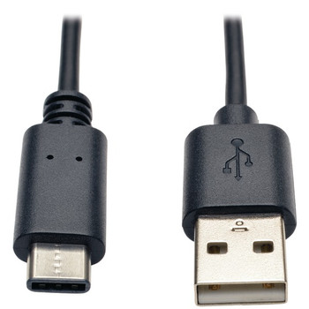 A-Male to USB-C(TM) Male USB 2.0 Cable (6ft)