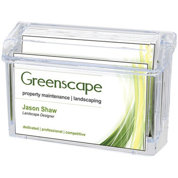 Grab-A-Card(R) Outdoor Business Card Holder