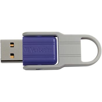 32 GB Store 'n' Flip USB Drive, Violet