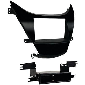 Double-DIN/ISO-DIN with Pocket Installation Kit for 2011 through 2013 Hyundai(R) Elantra