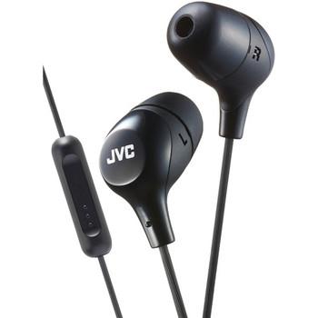 Marshmallow(R) Inner-Ear Headphones with Microphone (Black)