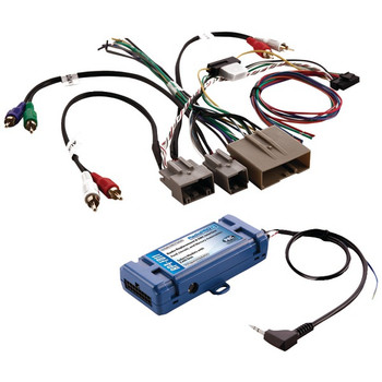 All-in-One Radio Replacement & Steering Wheel Control Interface (For select Ford(R) vehicles with CANbus)