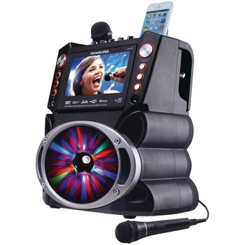 Bluetooth(R) Karaoke Machine with Synchronized LEDs