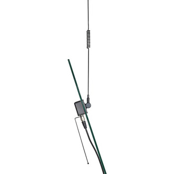 Pre-Tuned 150MHz-450MHz VHF/450HHz-470MHz UHF Dual-Band Land Mobile Glass-Mount Antenna