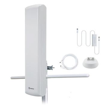 Big Boy AT-402BV Flat-Panel Smartpass-Amplified Outdoor HDTV Antenna