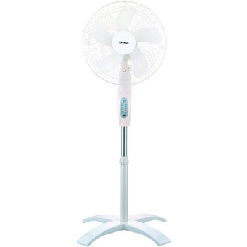 """16"""" Wave Oscillating Stand Fan (With Remote)"""
