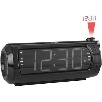 "1.8"" Jumbo-Digit Projection Dual-Alarm Clock Radio with USB Charging"
