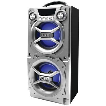 Bluetooth(R) Speaker with Speakerphone (Silver)