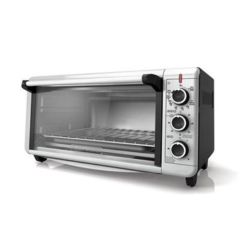 BD Extra Wide Toaster Oven Slv