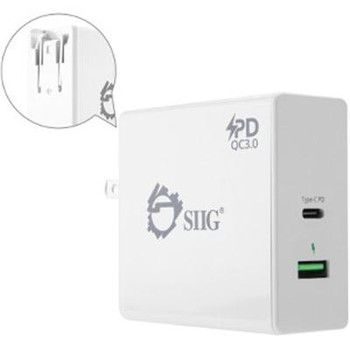 65W USB C PD Charger Power Cbl - ACPW1F12S1