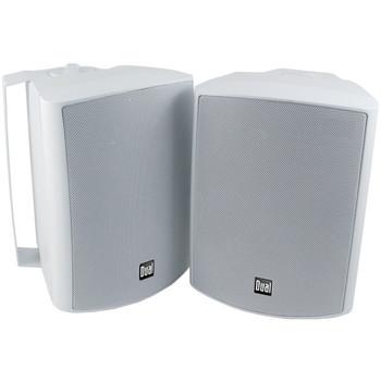 """5.25"""" 3-Way Indoor/Outdoor Speakers (White)"""