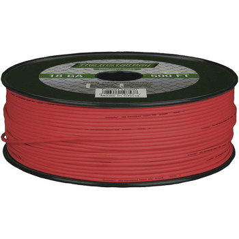 18-Gauge Primary Wire, 500ft (Red)