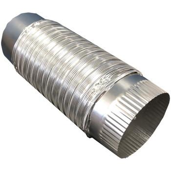 4-Inch x 2-Foot Semi-Rigid Push-Fit Duct