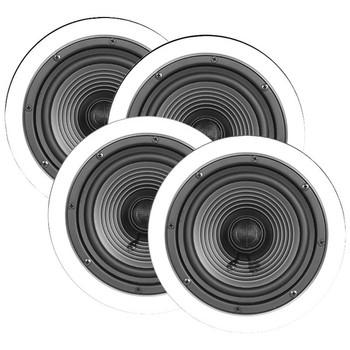 """6.5"""" Premium Series Ceiling Speakers, Contractor 4 pk"""