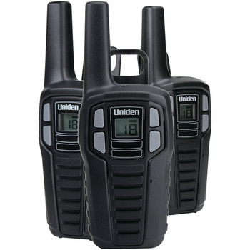 16-Mile 2-Way FRS/GMRS Radios (3 pk; with 9 batteries)