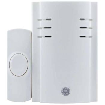 2-Chime Plug-in Door Chime with Wireless Push Button