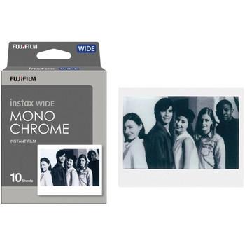 instax(R) WIDE Monochrome Film, 10 pk