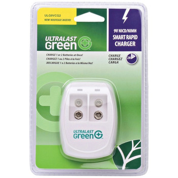 9-Volt NiMH/NiCd Smart Rapid Charger