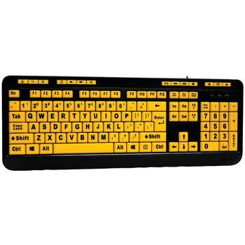 EasyTouch(TM) 132 Luminous Large-Print Desktop Keyboard