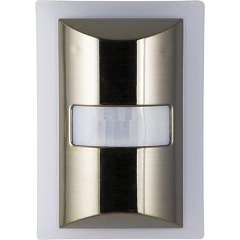 CoverLite 60-Lumen Motion-Boost LED Night-Light (Brushed Nickel)