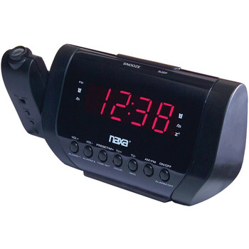Projection Dual Alarm Clock