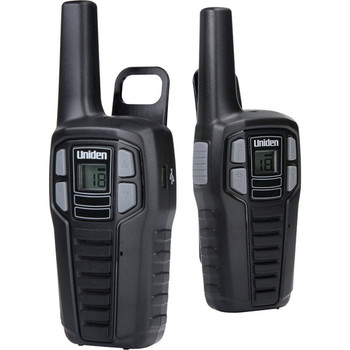 16-Mile 2-Way FRS/GMRS Radios (2 pk; With 6 batteries)