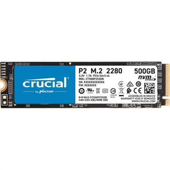 Crucial P2 500GB 3D NAND NVMe