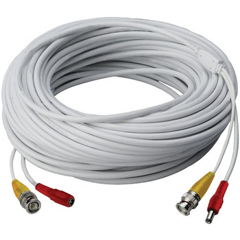 Video RG59 Coaxial BNC/Power Cable (60ft)