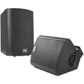 "5.25"" Indoor/Outdoor Wall-Mount Bluetooth(R) Speaker System (Black)"