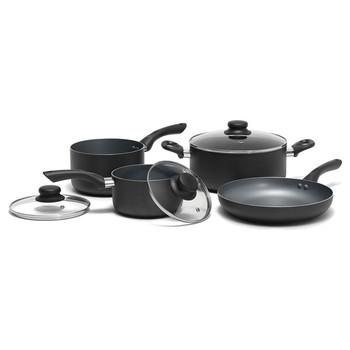 12-Piece Aluminum Cookware Set with 3 Utensils