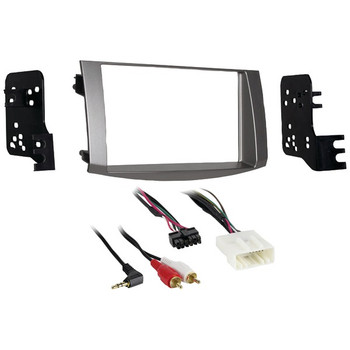 Double-DIN Installation Kit in Silver for 2005 through 2010 Toyota(R) Avalon