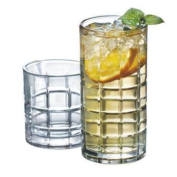 Manchester Drinkware Set 16pc