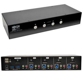 4 Port DP KVM Switch w Audio