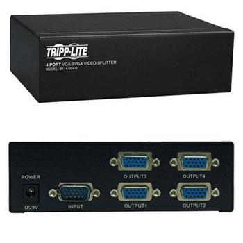 4 Port VGA SVGA Video Splitter