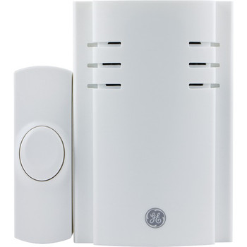 8-Chime Plug-in Door Chime (With 1 Wireless Push Button)
