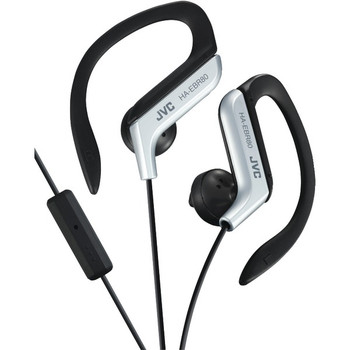 In-Ear Sports Headphones with Microphone & Remote (Silver)