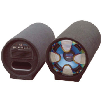 """Blue Wave Series Amplified Subwoofer Tube System (8"""", 250 Watts)"""