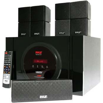 5.1-Channel Bluetooth(R) Receiver and Surround Sound Speaker System