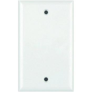 Standard Blank Wall Plate (White)