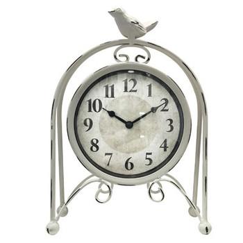 Metal BirdTable Clock