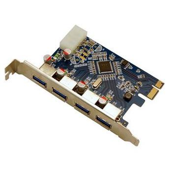 4 Port USB 3.0 PCIe Int Card