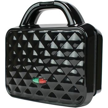 Couture Purse Nonstick Dual Waffle Maker (Black)