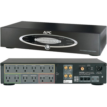 12-Outlet H-Type Rack-Mountable Power Conditioner with Coaxial Protection