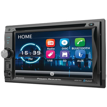 """6.2"""" Incite Double-DIN In-Dash Detachable LCD Touchscreen DVD Receiver with Bluetooth(R)"""