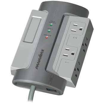 4-Outlet MAX(R) 4 EX Surge Protector (Without LAN/DSL Protection)